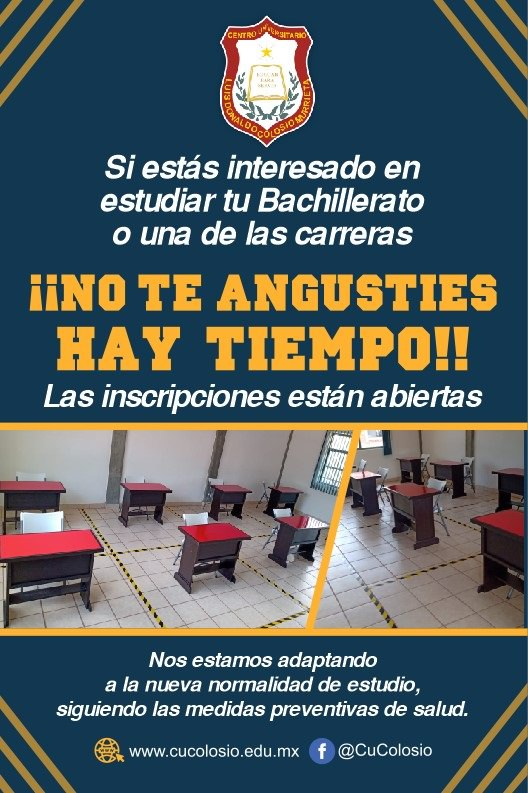Inscribete!
